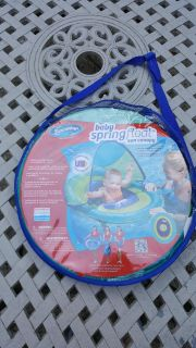 NWOT SWIMWAYS BABY SPRING FLOAT WITH SUN CANOPY