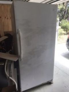 full size upright freezer 20cu
