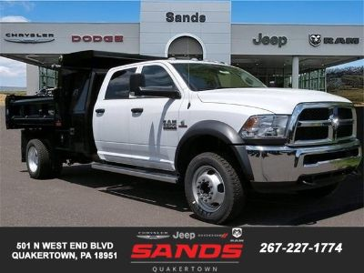 2018 RAM 5500 Chassis Cab TRADESMAN CHASSIS CREW CAB 4X4 (Bright White Clearcoat)