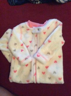 NWOT infant girls all in one sleeper 3-6 months
