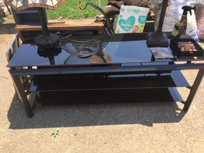 Black tv stand up to 60 inch TV