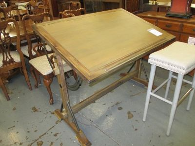 World Market Flip Top Drafting Table