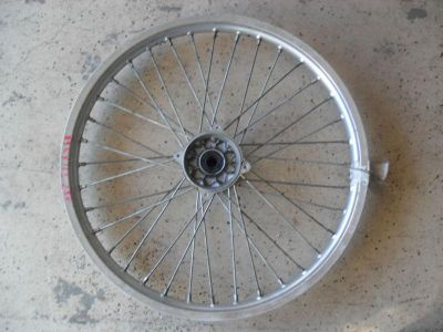 Find 89 KAWASAKI KX125 KX250 FRONT WHEEL OEM FRONT RIM 1989 KX 125 KX 250 motorcycle in Norton, Massachusetts, US, for US $28.99