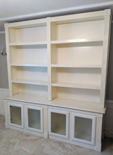 Custom Built Bookcase/Cabinet
