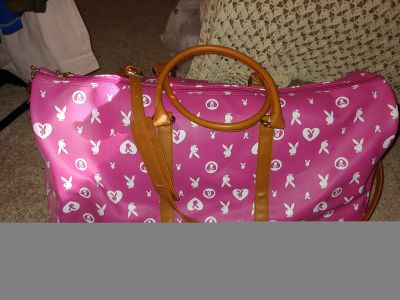Large Playboy Bunny duffle bag