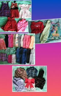 Lot of 2T baby girl clothes