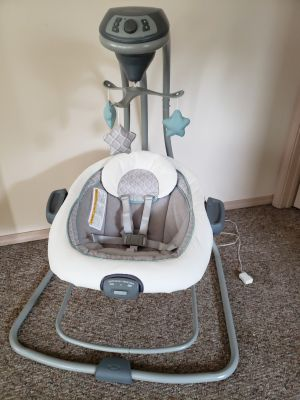 Graco DuetConnect LX Baby Swing/Bouncer