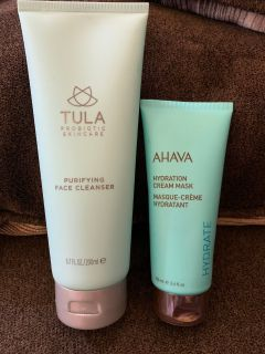 Tula face wash & Ahava mask asking $10 OBO