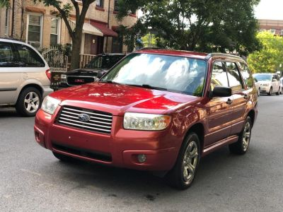2007 Subaru Forester 2.5 X (Red)