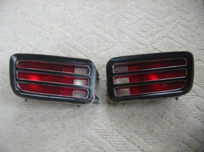 Sell 1970 OEM BARRACUDA TAIL LIGHT SET motorcycle in Youngstown, Ohio, United States