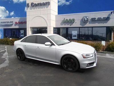 2014 Audi S4 3.0T quattro Premium Plus (Ice silver metallic)