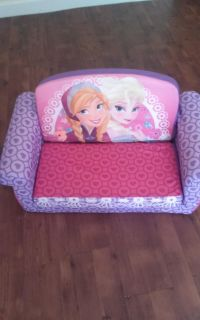 Disney's Frozen Elsa couch fold out no holds cross-posted