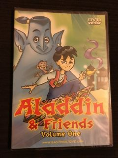 NIP Aladdin & Friends Vol. 1, Classic Fables Great Expectations, and Robin Hood dvds
