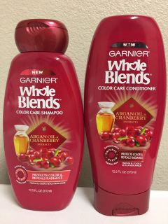 Garnier Whole Blends shampoo/conditioner. Price is Firm.