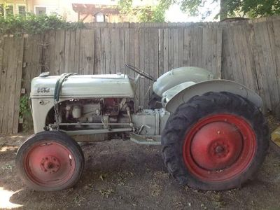 Tractors Ford 8N