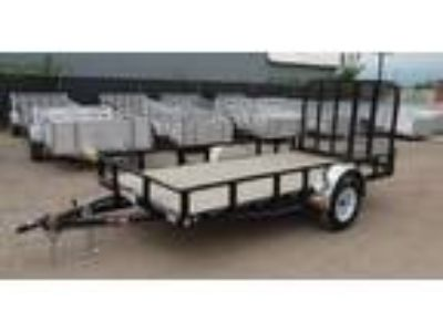 "2019 PJ Trailers 72"" Channel Utility (U2) 12'"