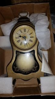 New / Antique Gold / Seth Thomas Mantle Clock