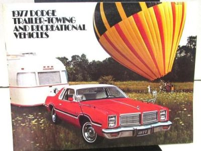 Purchase 1977 Dodge Dealer Color Sales Brochure Trailer Towing And Recreational Vehicles motorcycle in Holts Summit, Missouri, United States, for US $10.95