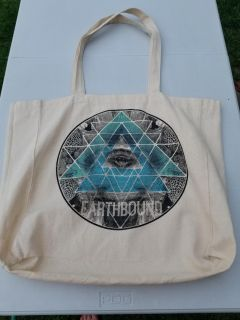 Earthbound tote bag 20 x 17 inches