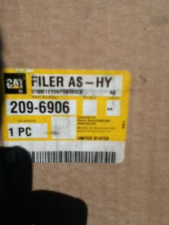 Sell CAT Filter 209-6906 motorcycle in Dumfries, Virginia, US, for US $19.99
