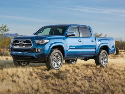 2019 Toyota Tacoma Limited (Super White)