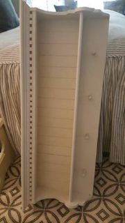 Wood Shelf with Dentil Molding and Pegs