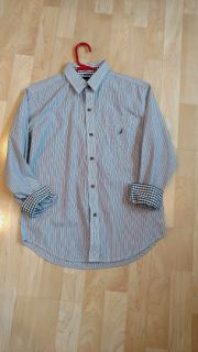 Nautica Shirt Size Medium 10/12 In Excellent Cond. Smoke Free