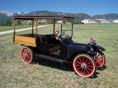 1917 Woods Mobilette Sheridan Light Delivery Truck