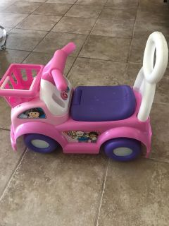 Fisher Price Grocery Push Car