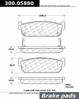 Find CENTRIC 300.05880 Brake Pad or Shoe, Rear-Premium Semi-Met Pads w/Shims motorcycle in Saint Paul, Minnesota, US, for US $19.26