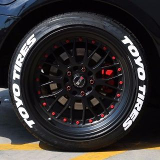"Find TOYO TIRES - White Tire Lettering - 1.5"" For 17"" 18"" Wheels (4 decals) motorcycle in Van Nuys, California, United States, for US $74.99"