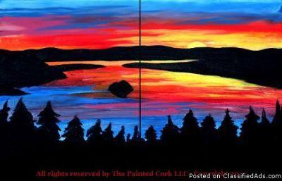 Folsom Studio 7/27~ Emerald Bay Sunset