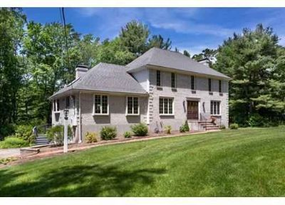 114 Pine St MEDFIELD Four BR, Stately Custom Built Brick Front