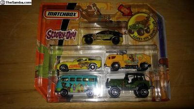 Matchbox Scooby Doo 5 car set