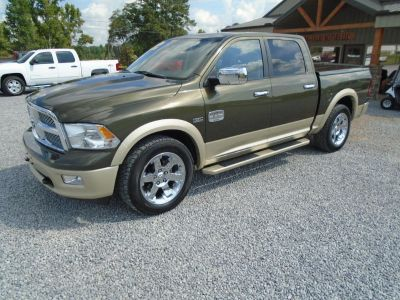 2011 RAM RSX ST (GREEN WITH TAN BOTTOM)