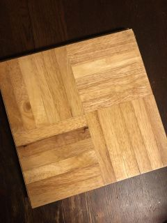 4 new replacement wooden tiles $1 ea