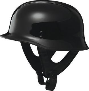 Find Fly Racing 9MM Half Helmet Traditional German WWII Style Black motorcycle in Hinckley, Ohio, United States, for US $63.00