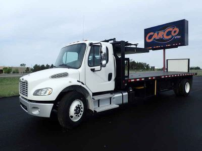 2017 Freightliner Busness Class Flat Bed