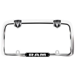 Sell Cruiser 11135 License Plate Frame Dodge Ram Logo Chrome motorcycle in Suitland, Maryland, US, for US $23.83