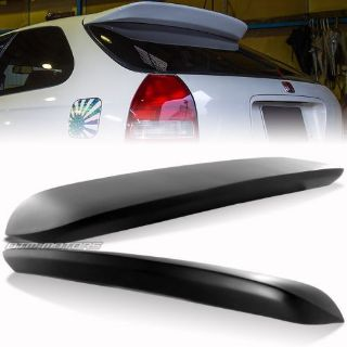 Purchase Primer Black FRP Rear Roof Spoiler Wing For 1996-2000 Honda Civic Hatchback 3DR motorcycle in Rowland Heights, California, United States