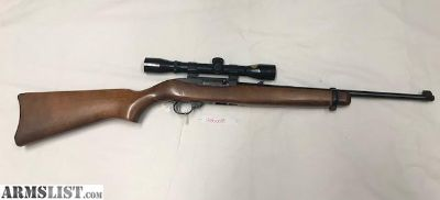 For Sale: Ruger 10/22 .22LR With Scope