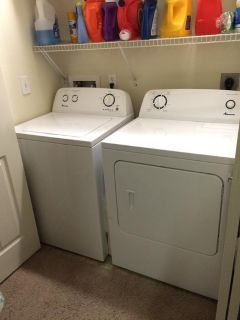 $500, Washer and Dryer for sale $500