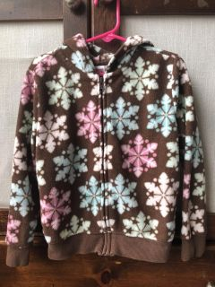 Girl s Hooded Jacket Size S 5/6