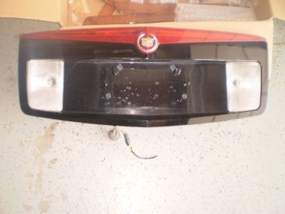 RARE 03 07 CADILLAC CTS 3RD THIRD BRAKE LIGHT LAMP finish panel CADDY REAR OEM