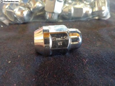 Lug nuts new 12mmx1.5. 20 piece