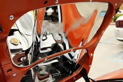 Sell ACC 043106 - 05-13 Chevy Corvette Hood Panel Polished Car Chrome Trim motorcycle in Hudson, Florida, US, for US $671.03