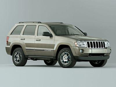 2007 Jeep Grand Cherokee Laredo (Red Rock Crystal Pearlcoat)