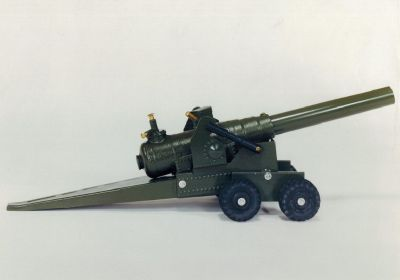 155 MM Military Green Cast Iron Cannon