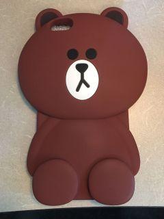 iPhone 6s Plus Silicone Cute Bear case