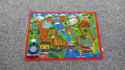 """Thomas the Train Rug 31"""" x 44"""" Excellent condition"""